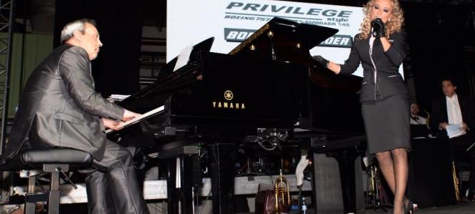 Jorge Gil Zulueta participa en el concierto de presentación del nuevo disco de Silvia Alonso en el Auditorio de Orense