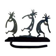 dancing kokopellis toilet paper holder